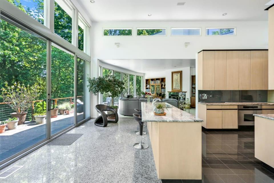 Cottages and Gardens: A $3M Contemporary Stunner Where Nature Shines Lists in Greenwich