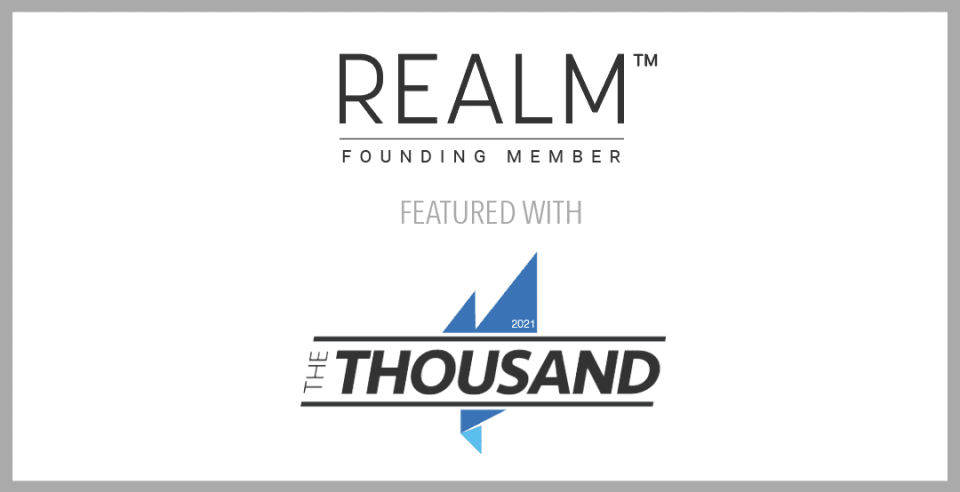 Realm Member, Valia Properties, Identified as an Industry Leader by Real Trends