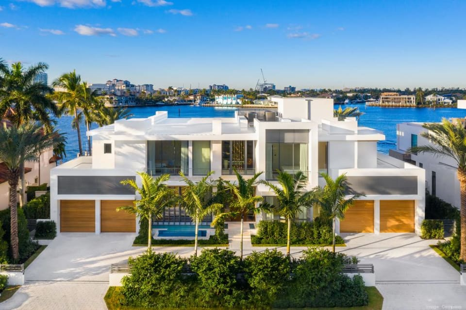 New Fort Lauderdale mansion with two-story marble fireplace sells for $23M