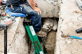 The Excavation Plumber