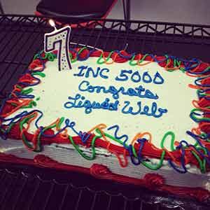 Liquid Web INC 5000 Cake