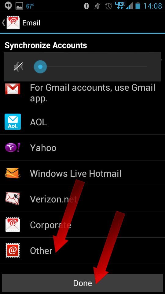 How To Setup Email on Android - 02