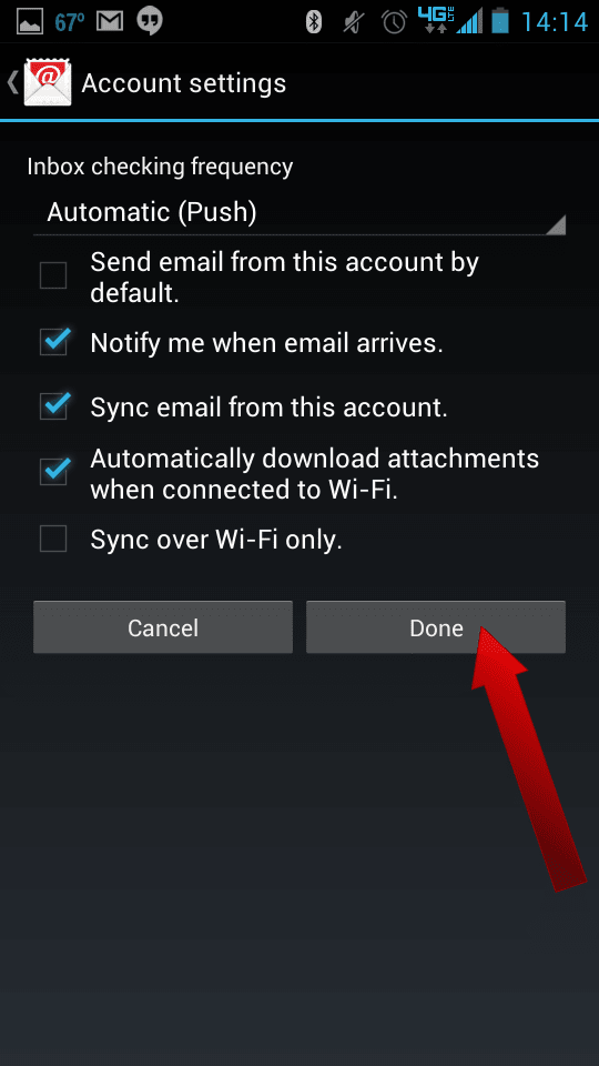 How To Setup Email on Android - 08