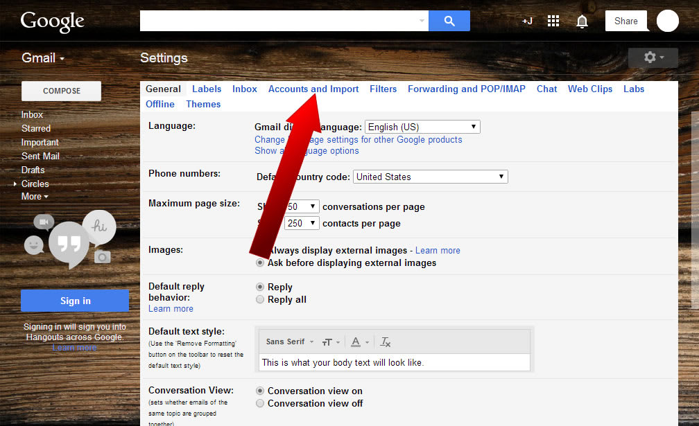 How To Check POP3 Email with Gmail