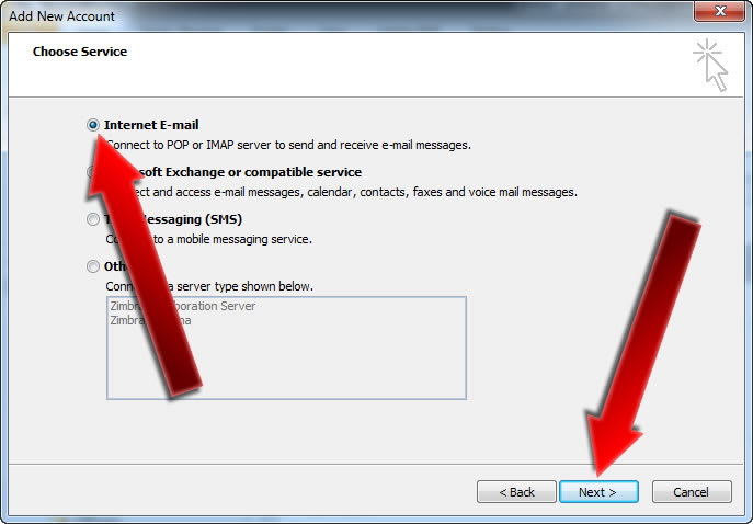 How To Setup Email on Microsoft Outlook 2010