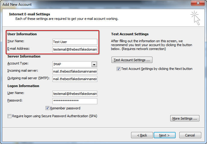 How To Setup Email on Microsoft Outlook - 04a