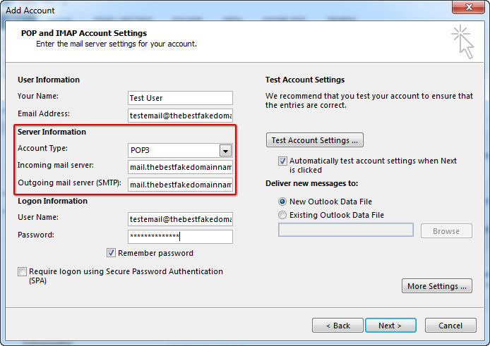 How To Setup Email on Microsoft Outlook 2013