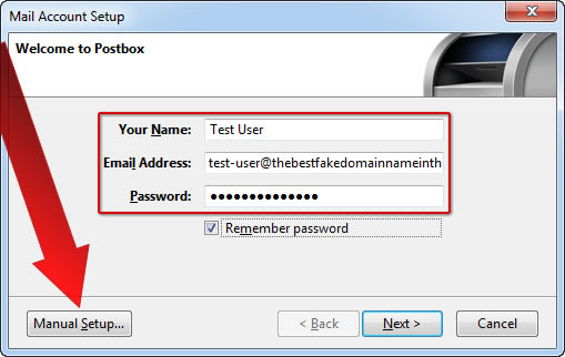 How To Setup Email on Postbox
