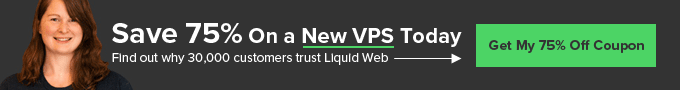 Get 75% off a VPS!
