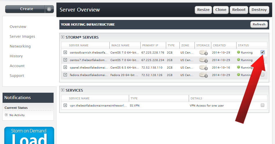 How to Resize a Liquid Web Storm (Cloud) Server