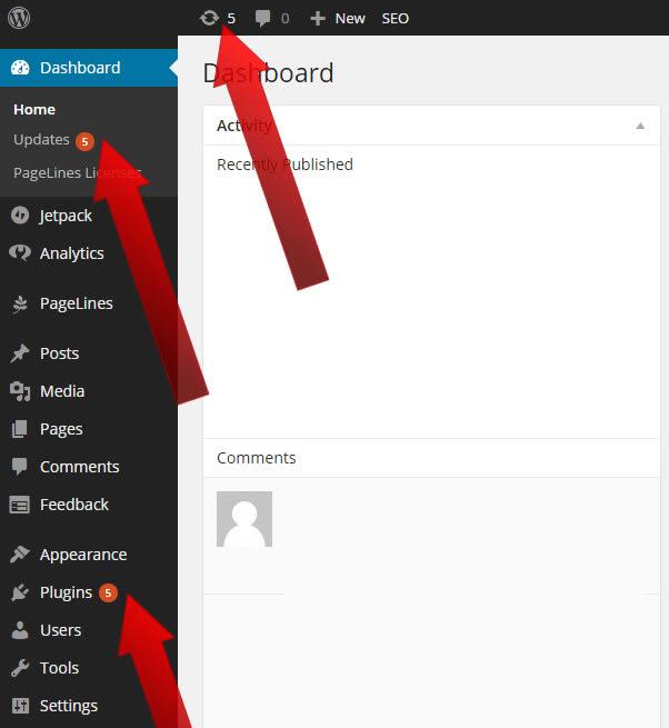 How To Update a WordPress Plugin - 01