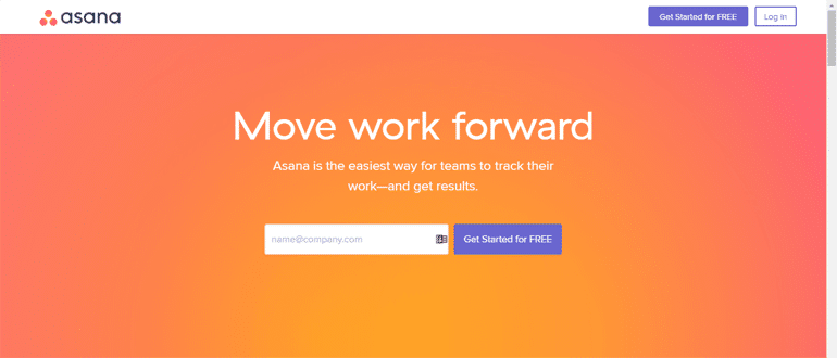Asana, a project management software, for agencies.