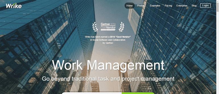 Wrike - unique project management software