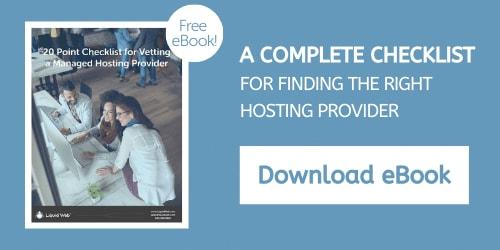 eBook - 20 Point Hosting Checklist
