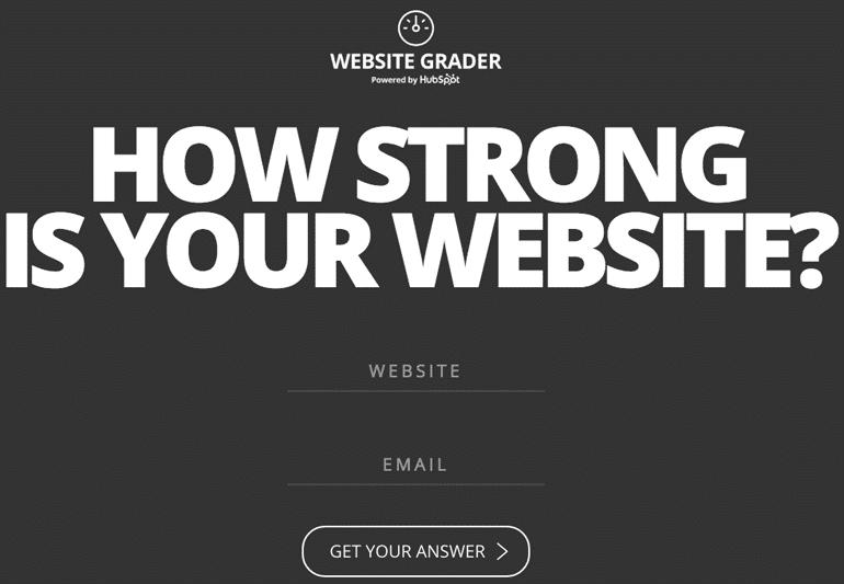 Website Grader Tracking Tool