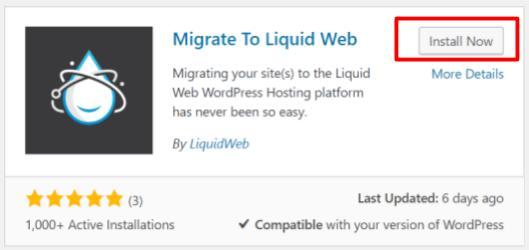 Liquid Web's Migration Plugin