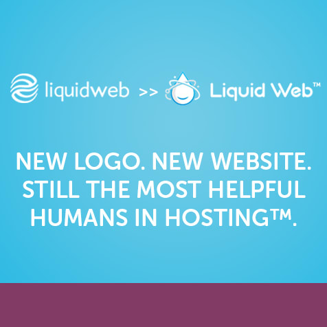 New Logo. New Website. Still the Most Helpful Humans in Hosting™.