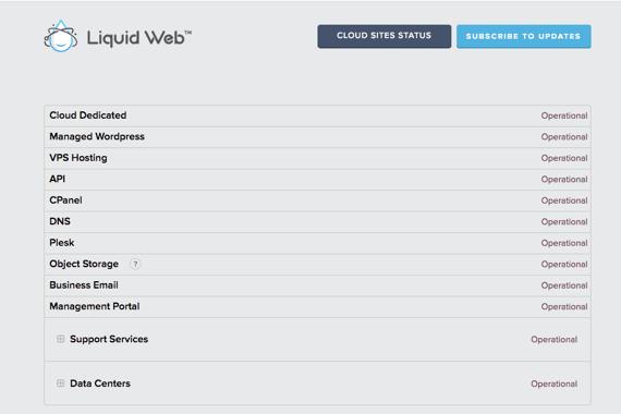 Liquid Web services