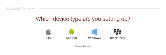 mobile device list