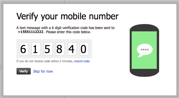 passcode entered