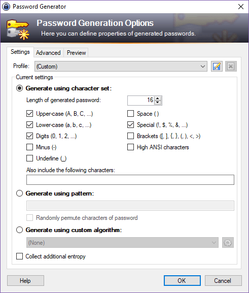 As you can see, KeePass and other password managers offer a range of options to help your users create complex passwords that are difficult to crack.