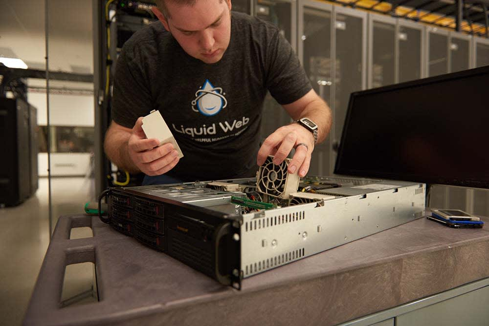 At Liquid Web, We Own our Own Data Centers