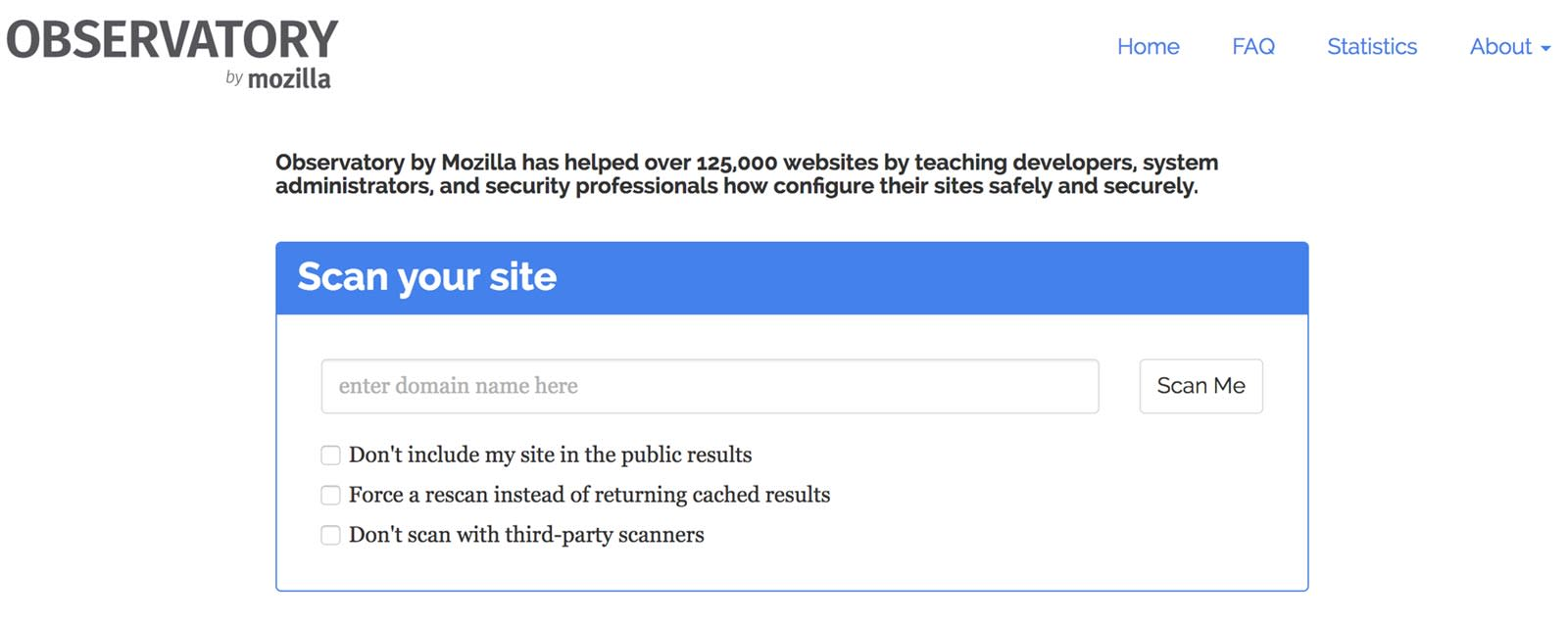 Observatory lets you scan your customers' sites for security issues - Liquid Web