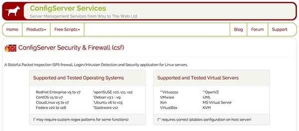 Config Server and Firewall makes managing software firewalls a lot easier - Liquid Web