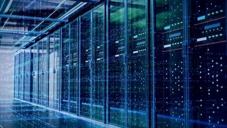 Server room or server computers - Liquid Web