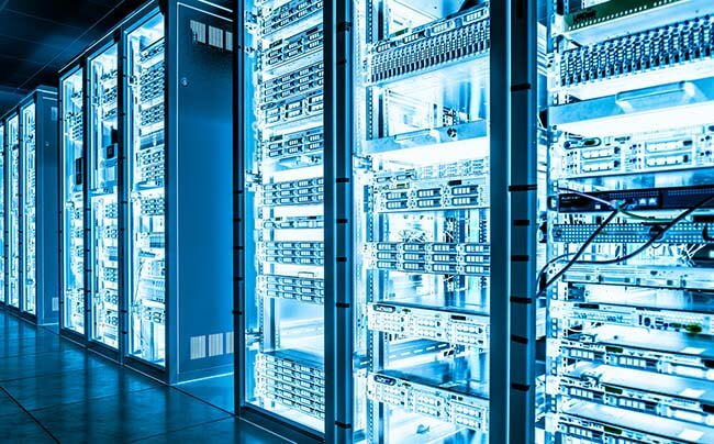 Transition to cloud-based data centers