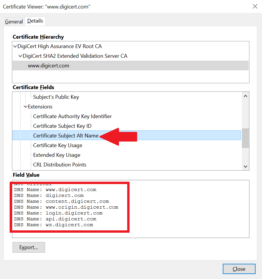SSL Certificates - Multi-Domain SSL Certificate of digicert.com