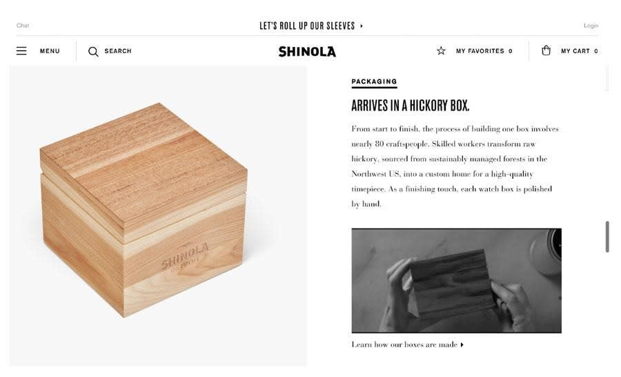 tell a story through images and videos to design your ecommerce site for conversion
