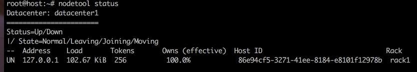 Verifying Cassandra is Installed
