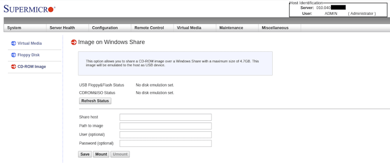 IPMI gives you the ability to add your own OS.