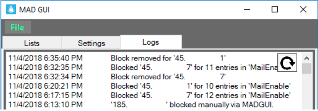 Our Malicious Activity Detector keeps logs of anyone attempting to connect to your Windows server.