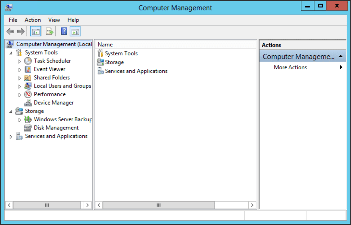 """The """"Computer Management"""" tool lets you create Windows accounts."""