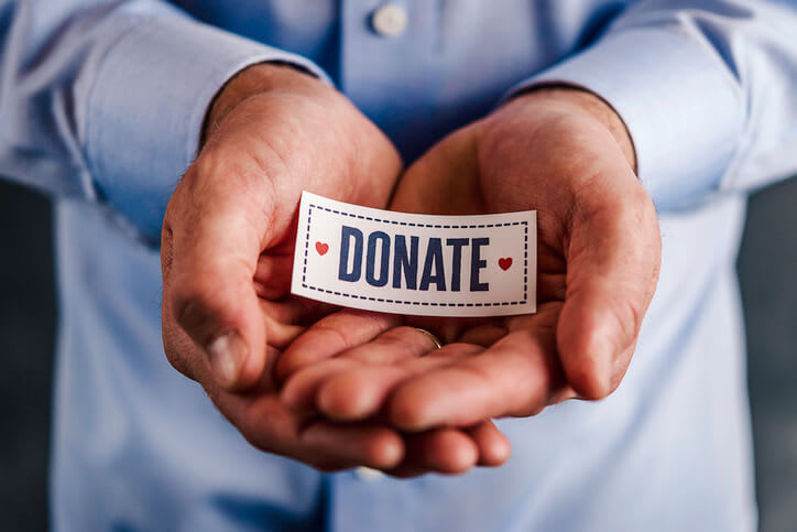 collect donations online