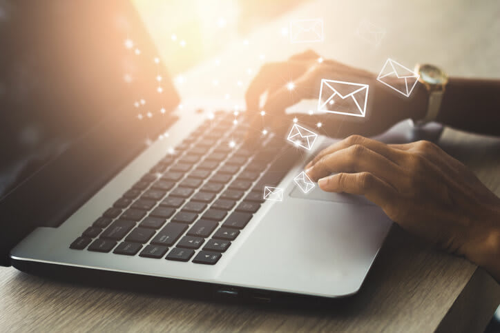 business email can help with securing from email spam