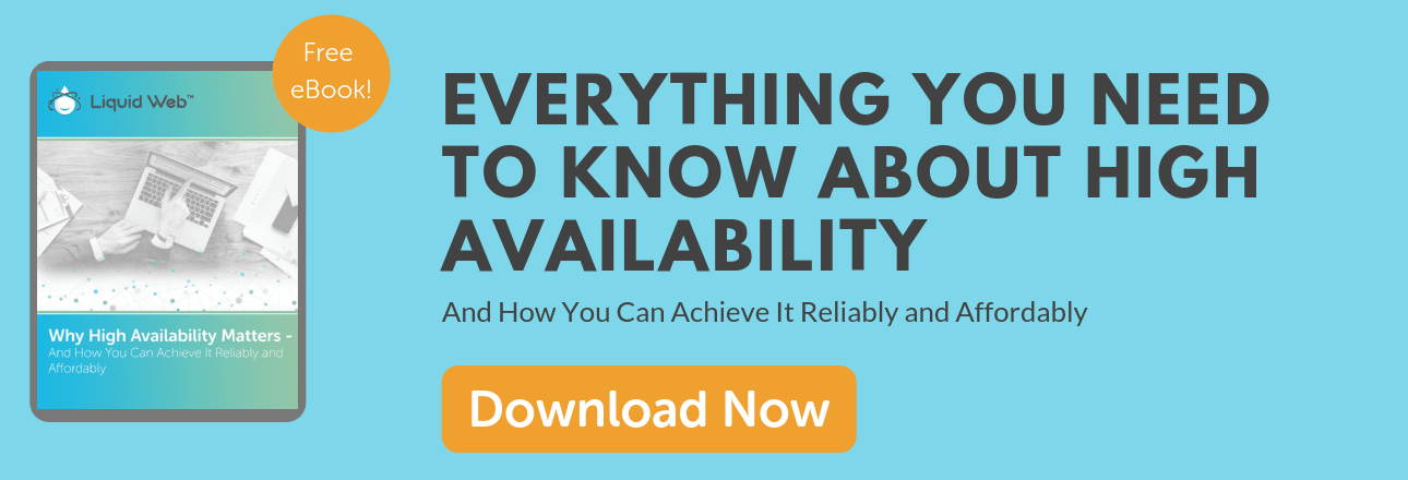 CTA - Why High Availability Matters - eBook