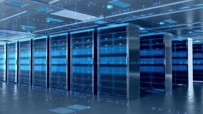 dedicated servers running vmware private cloud