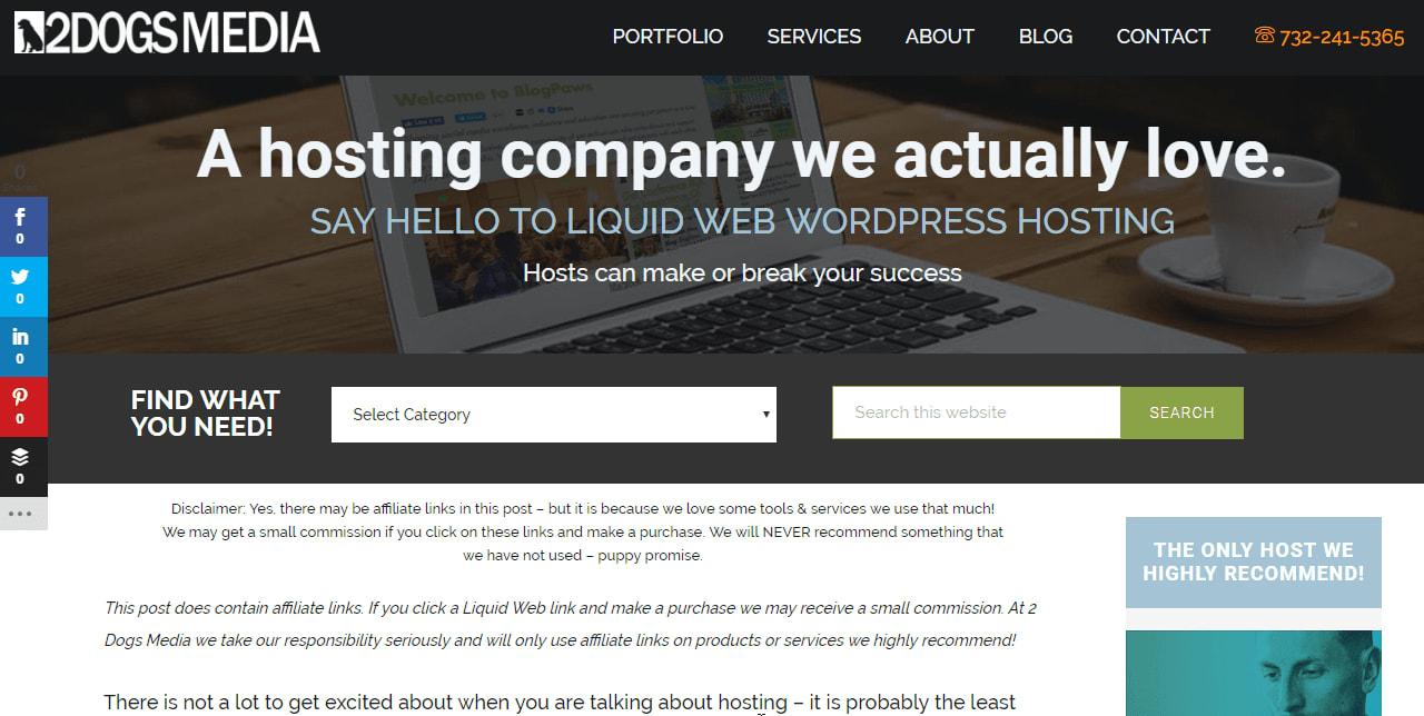 Write blog articles for affiliate marketing