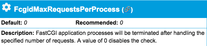 PHP processes