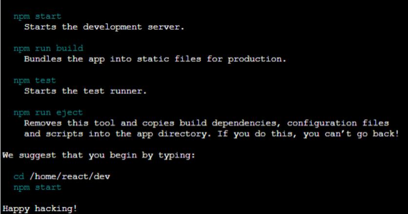 development.commands