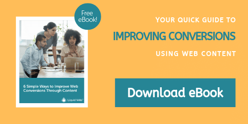 6 Simple Ways to Improve Web Conversion Through Content - eBook
