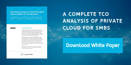 White Paper - TCO Analysis of Private Cloud for SMBs