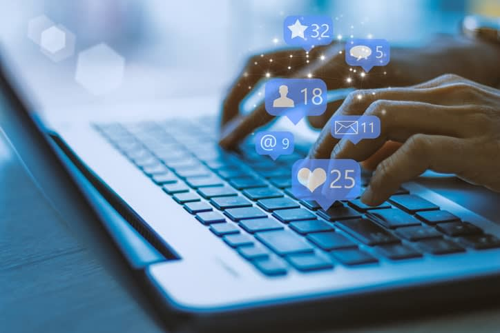 leverage social media to land larger clients