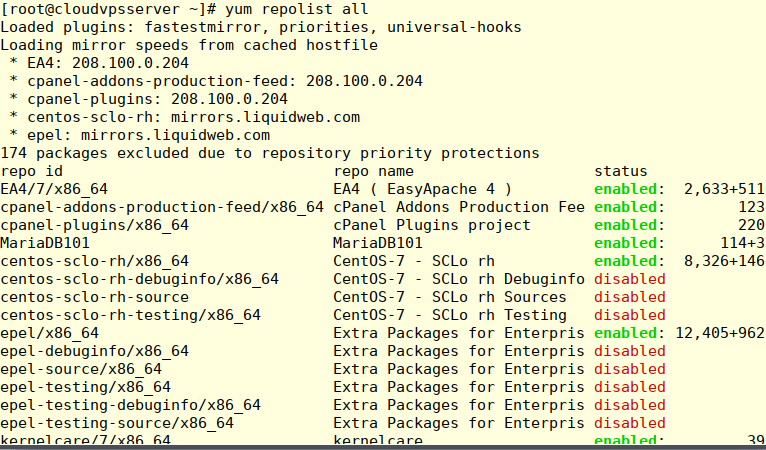 command line interface 15