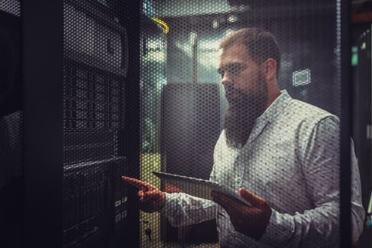 dedicated servers have more control over resources and less attack vectors than virtualized infrastructure