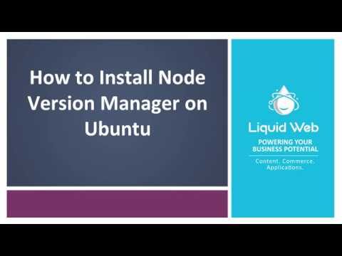 How to Install Node Version Manager on Ubuntu 16.04