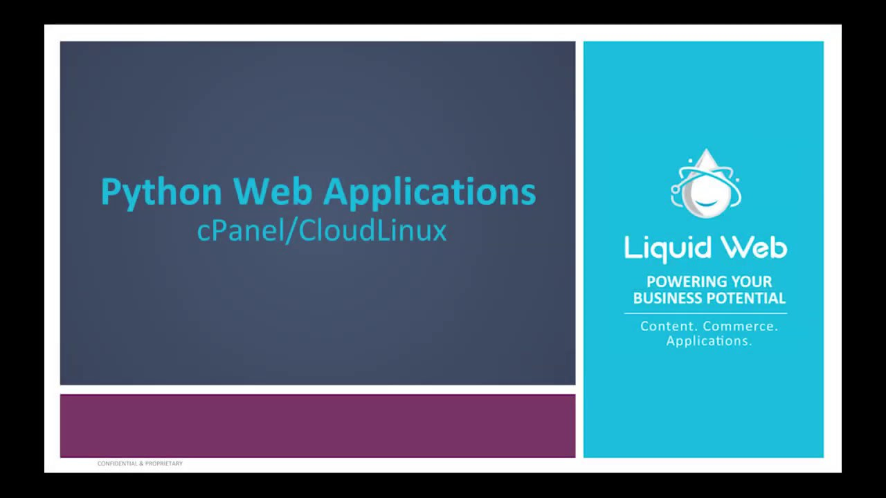 Python Web Applications In cPanel On CloudLinux